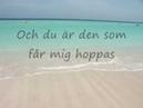 Sonja Aldén Du är allt Karaoke