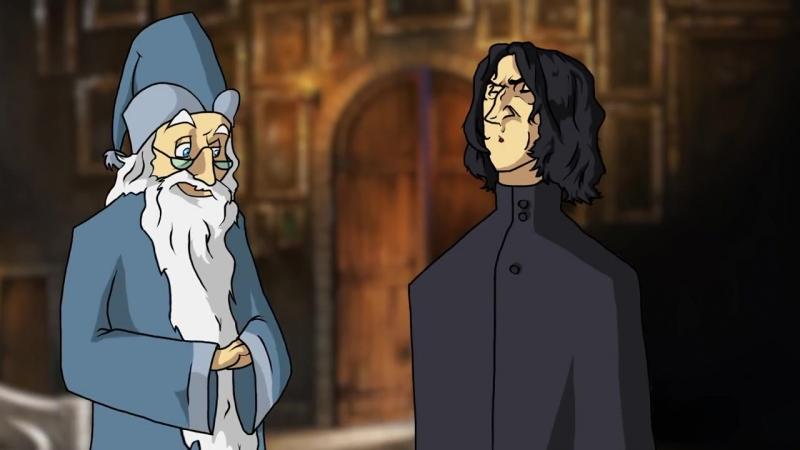 IKOTIKA - Типичный Дамблдор (Harry Potter parody).mp4