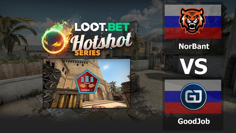 NorBant vs GoodJob [map1] - HotShot Series Season 1 CIS Closed Qualifier