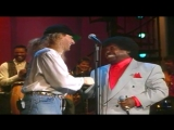 Michael Bolton &amp Percy Sledge - When A Man Loves A Woman (1991) LIVE