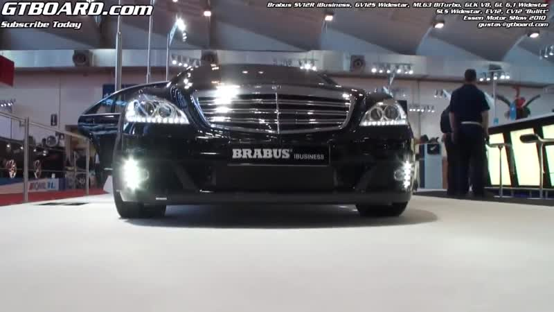Brabus SV12R (W221) 800 HP for the Apple lover! Incredibel equipment considering