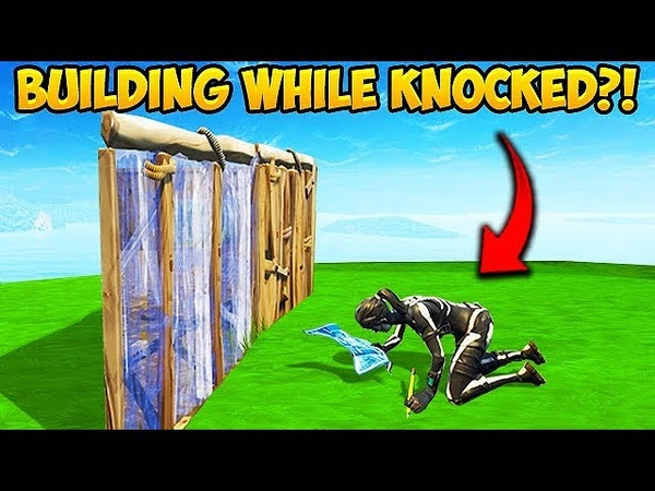 *NEW* BUILD WHILE KNOCKED TRICK! - Fortnite Funny Fails and WTF Moments! 356