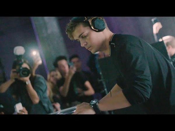 Armani Exchange special event in New York City with Martin Garrix