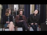 THR Staff Robert Pattinson, Claire Denis on Inventing Their Own World in 'High Life'