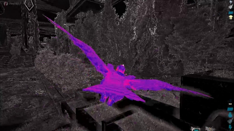 Snow Owl Predator Sense infrared vision button C Extinction ARK Survival Evolved