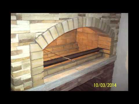Мангал в помещении облегченный вариант конструкции