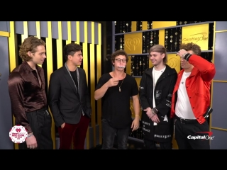 5SOS Hilarious Reaction To Magic Trick _ 2018 iHeartRadio Music Festival