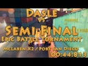 Разбор заезда Dasle VS Semi Final Epic Battle Tornament, McLaren X2 / Port San Diego (00:44:813)