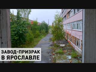 Завод-призрак в Ярославле: цеха, кабинеты, бомбоубежище. Что с ними стало?