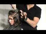 Creating texture for curly hair with Nick Berardi(Vidal Sassoon)