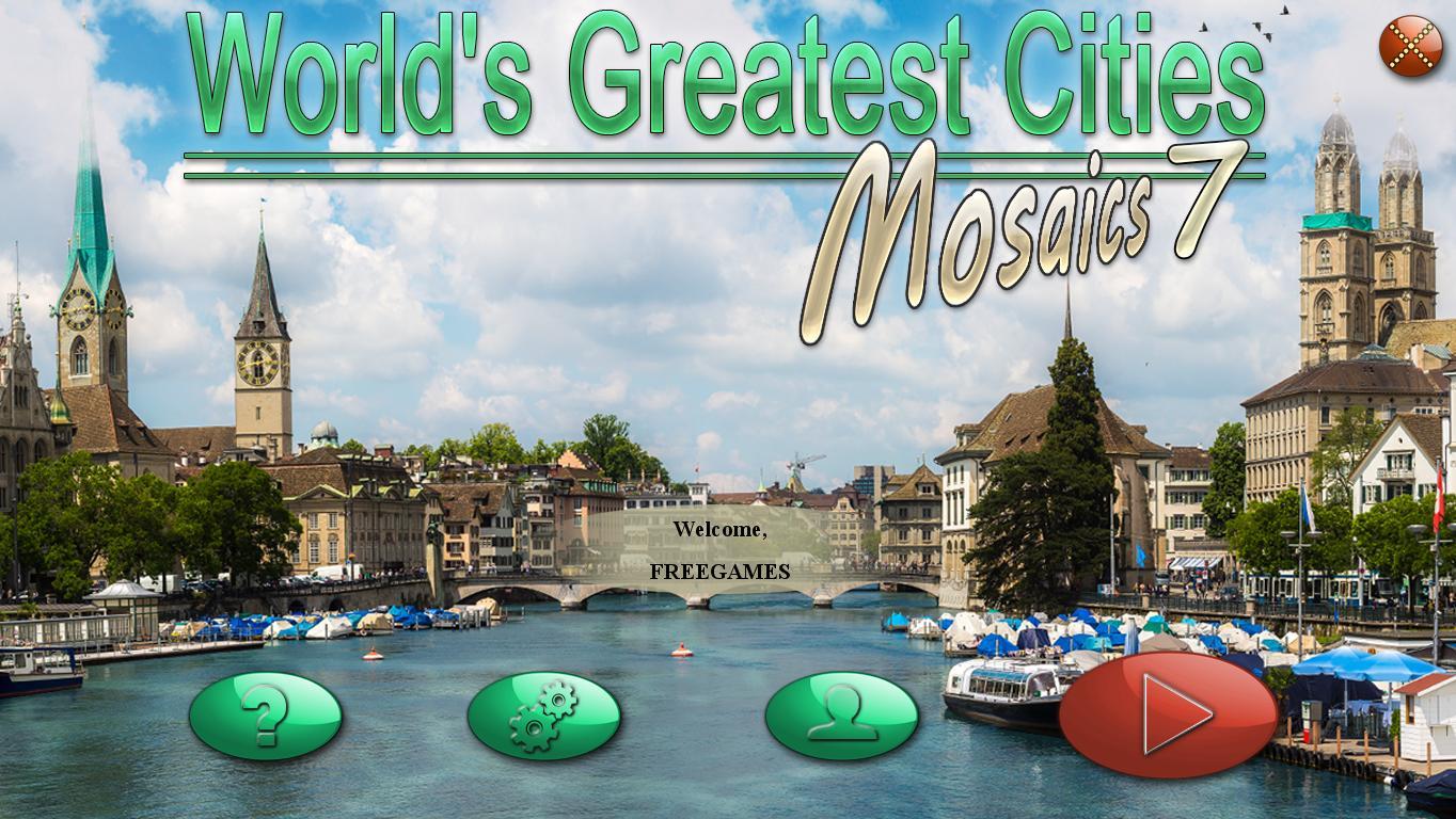 Величайшие города мира. Мозаика 7 | World's Greatest Cities Mosaics 7 (En)