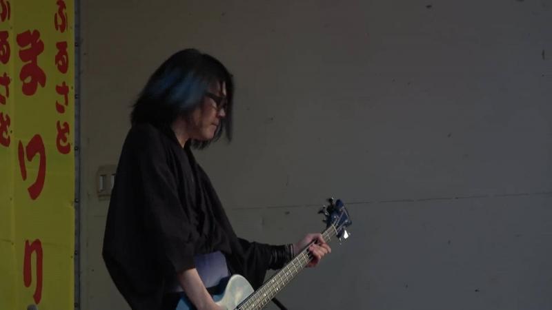 Carya feat. Ni~ya「Rocket Girl」LIVE @ Kakuda Furusato Summer Festival 2018.08.14