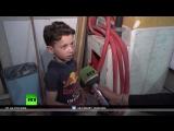 RT поговорил с мальчиком из постановочного сюжета о химатаке в Сирии
