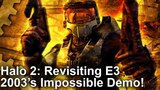DF Retro Extra: Halo 2 - Revisiting E3 2003's Impossible Xbox Demo!