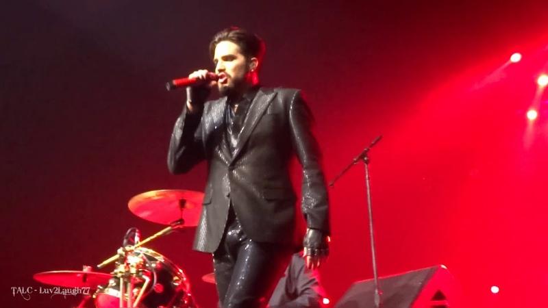 Q ueen Adam Lambert - Drum Battle Under P ressure - P ark Theater - Las Vegas - 9.22.18