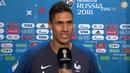 Raphael VARANE France - Post Match Interview - MATCH 21
