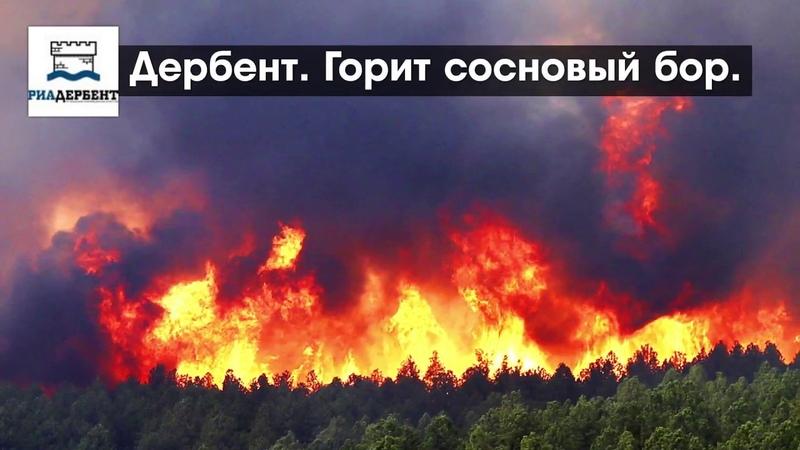 Дербент в огне: в дыму и пепле памятники ЮНЕСКО
