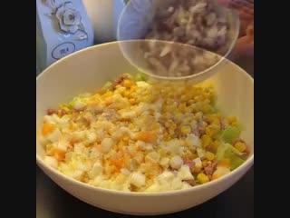 Легкий салат: фитнес повар