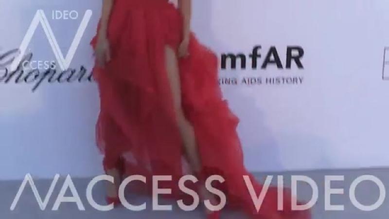Elsa Hosk at the 25th annual amfAR Gala in Cannes ( 360 X 640 ).mp4