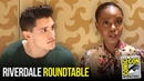 Casey Cott Ashleigh Murray Riverdale Roundtable Interview at Comic Con 2018