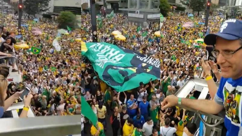 Manifestação na paulista , de arrepiar! ISSO A GLOBO NÃO MOSTRA! Política Play