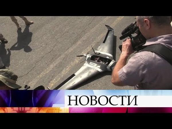 Зарубежные журналисты, которые завершают пресс-тур по Сирии, познакомились с работой авиабазы Хмейми
