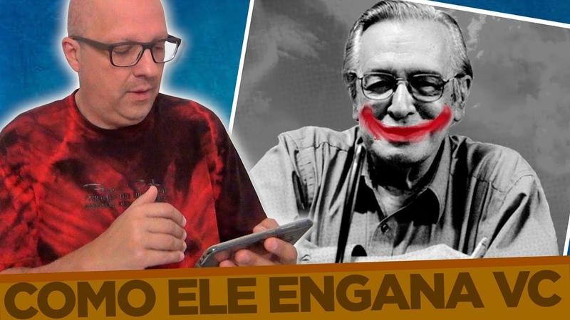 PQ OLAVO DE CARVALHO é um grande PERIGO para o País Ele Fala Sobre o que NÃO SABE ESPECIAL 1 4