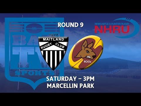 2018 NHRU Round 9 Premier 1 Maitland v Lake Macquarie Roos