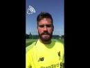 Liverpool complete Alisson Becker transfer