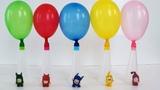 #OddbodsToys Balloons Bottles Beads and Balls, #LearnColorsOddbods Surprise Toys