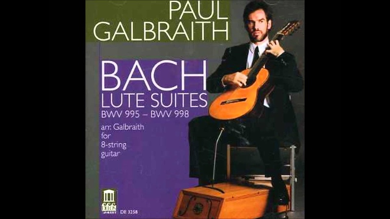 Bach - Lute Partita In C Minor, BWV 997 (Arr. For Guitar): IV-V. Gigue Double (Paul Galbraith)