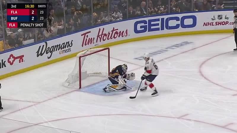 Dadonov scores on penalty shot Dec 18, 2018