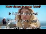 Lyrics_English_Calvin Harris - How Deep Is Your Love Low Motion