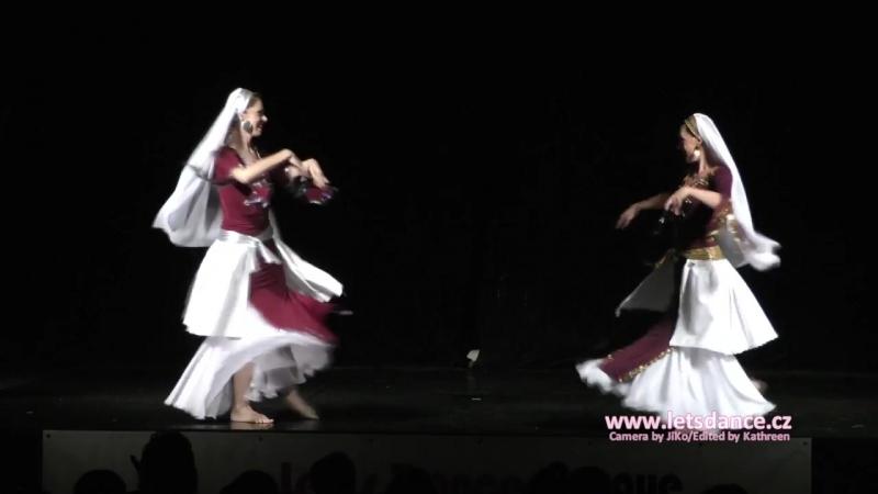 Lets Dance Prague Oriental Competition 2015 Eshal Duaa Hagala 2nd place
