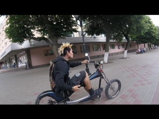 Город Орёл. Растабайк .