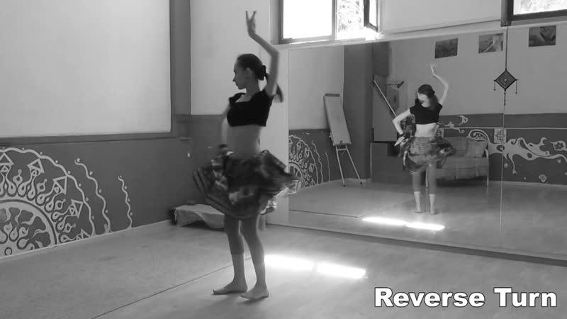 ATS® Slow Moves: Reverse Turn \ АТС-словарь @ dance vocabulary