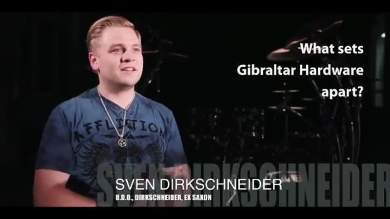 GEWA drums® German metal drummer Sven Dirkschneider