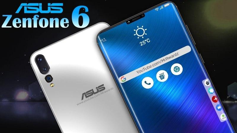 ASUS Zenfone 6 Comes with Triple Camera, Notch Bezelless Edge Screen, [concept]
