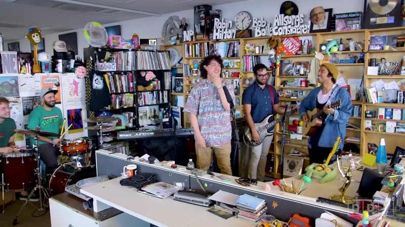 Hobo Johnson and The Lovemakers_ NPR Music Tiny Desk Concert