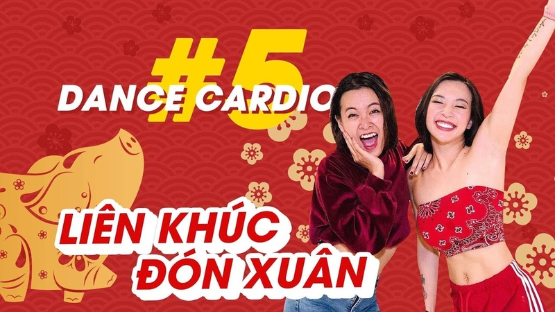 Dance Cardio 5 Liên khúc đón xuân ♡ Hana Giang Anh