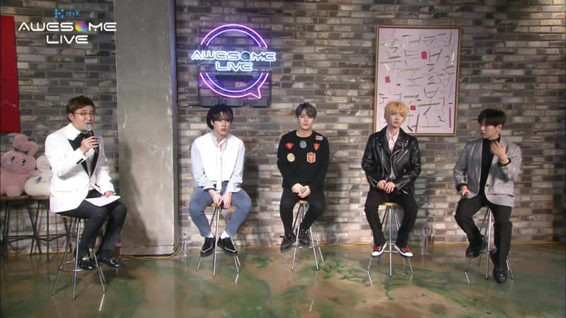 [190309] myK Awesome Live ep.4 with Noh Taehyun, Kim Donghan, JBJ85