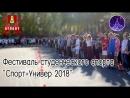 Фестиваль студенческого спорта СпортУнивер 2018