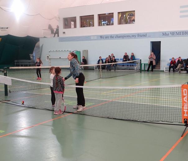 Фестиваль тенниса юных чемпионов. 07-08.04.2018