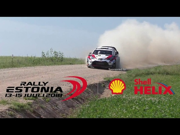 Shell Helix Rally Estonia 2018 (Action,Close Calls C.Breen High speed Spin)