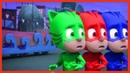 PJ Masks Season Cartoon 06 🔴 Learning Colors for Kids, Babies, Children