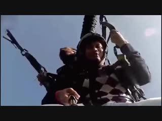 Турист снял на видео смерть своего спасителя - пилота.