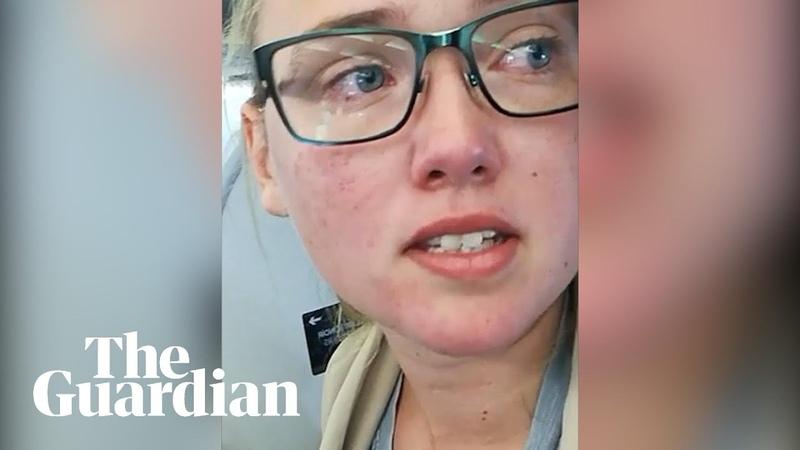 'Not sitting down': student Elin Ersson halts deportation of asylum seeker