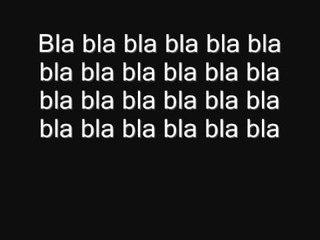 Bla bla bla Philippe Katerine (paroles)