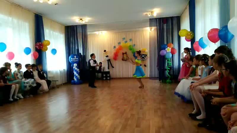 Танец от Данила и Виктории