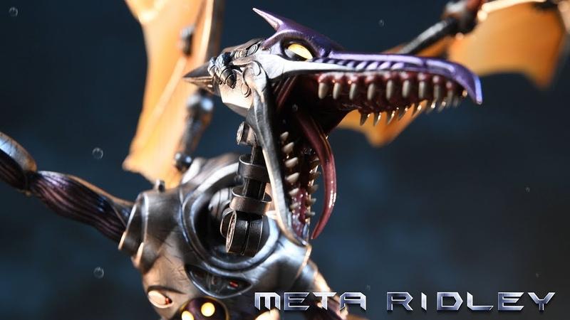 F4F Presents Metroid Prime - Meta Ridley Statue Trailer
